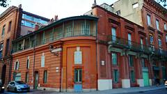 Toulouse, Haute-Garonne - France (Mic V.) Tags: street city pink france building rose architecture plan toulouse midi rue 31 garonne development planner ville pyrenees haute pyrénées urbain urbanisme