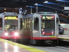 (sftrajan) Tags: sanfrancisco subway metro trains muni transportation masstransit breda 2014 lrv westportalstation canonsx500is bredacostruzioniferroviariespa