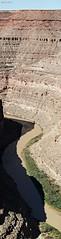 Goosenecks (a vertical composite) (zeesstof) Tags: statepark park river utah rocks roadtrip canyon redrocks geology stratigraphy sedimentology sanjuanriver structuralgeology goosenecksstatepark pennsylvanian paradoxformation honakertrailformation fieldexcursion utahgeology canon7d canonefs18135mmf3556is zeesstof