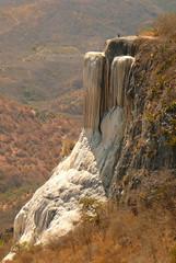 Hierve el Agua, Oaxaca (Brigitte Mt) Tags: mountain landscape mexico salt oaxaca mexique aguacaliente