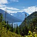 Mountains around Upper Waterton Lakes (Waterton Lakes National Park)