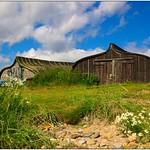 Boat Sheds, Holy Island