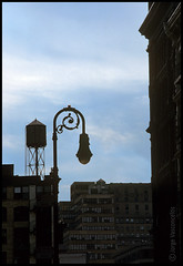 Lamp Post - Greene St - Soho - New York - sept-17-2001- 01 (Jorge Vasconcelos Photos) Tags: city nyc newyorkcity usa ny newyork color building vertical architecture buildings cityscape manhattan worldtradecenter soho watertower 911 nopeople architectural lamppost american twintowers wtc sept11 september11 watertank analogphotography nikonf3 september2001 greenestreet filmphotography sept2001 9112001 buildingexterior nikonscanner 092001 analoguephotography jvasconcelos jorgevasconcelos