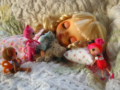 """IMG_2111...""""wake up, wake up,   wake up!"""" say the giggling little lala dollys."""