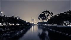 ... (tirjayanto) Tags: longexposure light blackandwhite bw building night river indonesia blackwhite jakarta hdr malam kuningan sungai lampu gedung menteng ciliwung manggarai nightfoto sudirman hitamputih centraljakarta sungaiciliwung hitamdanputih ciliwungriver ef2470mmf28liiusm