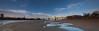 Floods what floods (Ian Murren) Tags: bridge cheshire trains lowtide sandbank runcorn merseyside widnes motorvehicles rivermersey runcornbridge silverjubileebridge poolsofwater transportcrossing