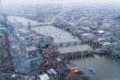 Shard, London - February 2013 (ntalka) Tags: uk london rain shard