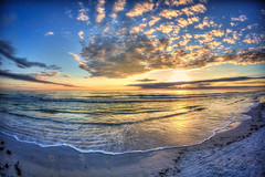 Wish you were here (Matthew Pugliese) Tags: sunset gulfofmexico clouds sand wideangle fisheye pointofview hdr highdynamicrange goldenhour fisheyelens siestakeybeach siestabeach floridasunset canon15mmfisheye sarasotafl siestakeyflorida canon5dmarkiii winter2014 sarasotabeaches vision:sunset=0799 vision:mountain=0546 vision:outdoor=0867 vision:sky=0977 vision:car=054 vision:clouds=0964 siestakeysrarasota winteroveryet