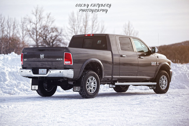 winter snow diesel dodge ram 2500 70200mm canon5dmkii