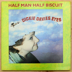 Half Man Half Biscuit - Dickie Davies Eyes (Leo Reynolds) Tags: 35mm canon eos iso100 ebay vinyl f45 cover single record disc sleeve platter 12inch 45rpm 70d hpexif 0011sec leol30random xleol30x xxx2014xxx
