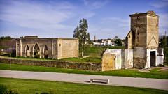Restos del molino de Judea en parque del Guadaira (Sevilla)