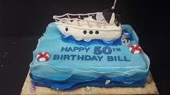 Boat Cake (dragosisters) Tags: ocean cake t sail 50th boay