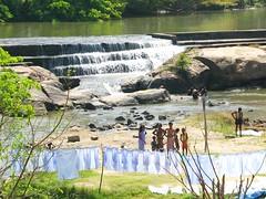india (gerben more) Tags: india laundry washing waterfallriver