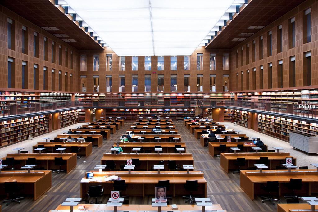 The world 39 s best photos of bibliothek and dresden flickr - Uni dresden architektur ...