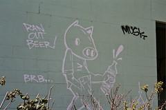 Ham (always_exploring) Tags: sanfrancisco urban abandoned film nature beer 35mm graffiti bacon nikon hiking tag tags ham hike explore bayarea spraypaint graff musk outline n80 exploration hollow stay brb lurking northbay urbex hamone wheresmusk hamsfc staybacon