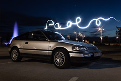 Paolo's CRX 03 (Bla Zagorec) Tags: auto light sun cars canon honda silver dark exterior interior 4 engine automotive na crx cylinder automobiles tracking naturally cil 550d aspirated