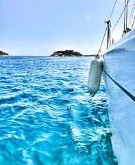 Eurotrip (fhillo) Tags: summer beach nikon sailing yacht croatia split vis hdr hvar adriatic