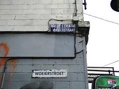 Street signs in the Marolles (Joop van Meer) Tags: brussels streetsign 2015 marolles gr12