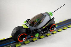 Febrovery 2017 Day 8 (TFDesigns!) Tags: lego space rover racer luxury motorcycle cycle concept dual mode exploration sport febrovery alien colony
