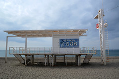 Playa de Almeria (Alan Gandy) Tags: playadealmeria almeriacity almeria spain lifeguardstation lifeguardtower