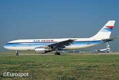 F-BUAJ (@Eurospot) Tags: fbuaj a300 airinter orly airbus