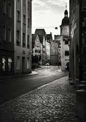 City streets (boggdanx) Tags: streetphotography street city urban architecture monochrome blackwhite cityscapes regensburg sigma1750mm nikond7100