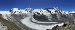 Monte Rosa 4634m, Liskamm 4527m, Castor 4228m, Pollux 4092m, Breithorn 4164m (AGrinberg) Tags: switzerland 1942526 gornergrat mountains glacier ice