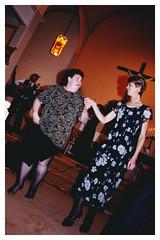 Barbara MacDonald Magone and Patricia Chafe