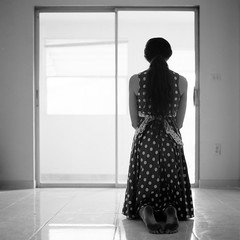 Kelsey_024 (patofoto) Tags: blackandwhite bw woman 6x6 film nude square hasselblad squareformat artisticnude femenine hasselblad203fe
