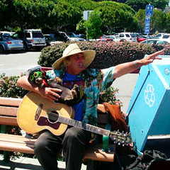 Busker & Dog (goofcitygoof) Tags: dogs sunglasses guitar hats buskers sausalito mayorjones alexandrajones goofcitygoof httpsfbulldogcomalexandra goofcitygraphix httpgoofcitycom httpmayorjonestumblrcom picmonkey