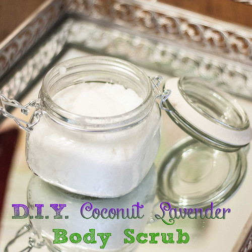 DIY Lavender Coconut Body Scrub-2 copy