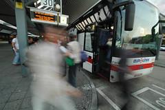 ZOB Berlin - Busankunft