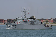 M923 BNS Narcis (xj900suk) Tags: southsea minesweeper m923 belgiumnavy bnsnarcis