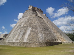 Pyramid of the Magician, Uxmal (Aidan McRae Thomson) Tags: mexico site ancient ruins yucatan mayan archaeological uxmal