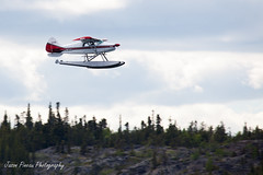 Maule (Jason Pineau) Tags: airplane nt aircraft aviation nwt northwestterritories m4 seaplane yellowknife floatplane maule cgrjn cen9