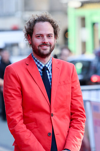 Director Drake Doremus arriving on the red carpet for Breathe In at the Festival Theatre