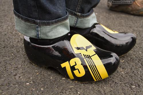 Corvette Racing clogs