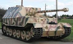 Panzerjäger Tiger Elefant tank destroyer used by German Wehrmacht in WWII