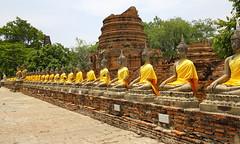Wat Mahathat Temple - Ayutthaya - Thailand (Moncton Photographer) Tags: thailand temple wat ayutthaya mahathat