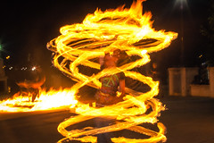 Albany Spin Jam - July 30 (Chicago_Tim) Tags: newyork night hoop fire staff poi albany performer preserve spinner corning spinjam