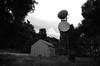 Planet Earth (Stephen Whittaker) Tags: white black radio mono nikon telephone grain mast d5100 whitto27