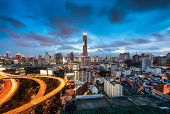 Baiyok Tower (: : T O N I : :) Tags: city thailand cityscape bangkok getty gettyimages baiyok gett