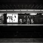 Marseille France : platform Castellane