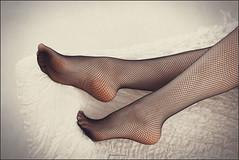 fishnet stockings (Yepanchintcev Aleksey) Tags: sexy stockings girl fetish foot toes legs mesh footfetish