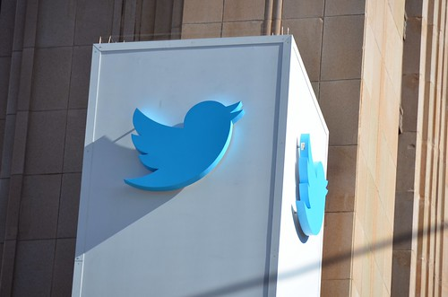 Twitter HQ on the day they publicly file by Steve Rhodes, on Flickr