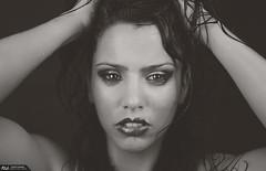 Leyla B&W (Roberlou) Tags: alicante labios gota leyla actriz mojada rlo roblo rlou roberlou roberlo roblou