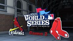 World Series 2013  - Game 2