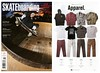 TransWorld SKATEboarding | November 2013 | Ace jacket, Gus woven & Toil pant