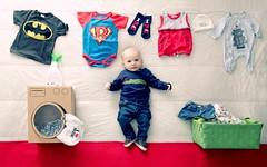 washing mum's dirty linen (isabel cortes) Tags: baby babies washingmachine creativephotographers isabelcorts isabelcortsphotography creativekidsportraits washingdirtylinen