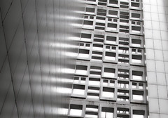 Abstract apartments, Berlin (Sallyrango) Tags: abstract berlin architecture reflections germany deutschland europe apartments 1960s abstractarchitecture urbanabstract 1960sarchitecture